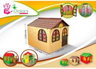 Ігровий будиночок Doloni зі шторками 02550/2