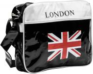 Спортивна сумка Flag London b01033vc білий із чорним