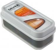 Губка для обуви Silver стандарт широкая 45 x 105 мм натуральный