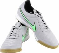 Бутсы Nike Tiempo Genio Leather IC 631283-030 р. 11,5 серый