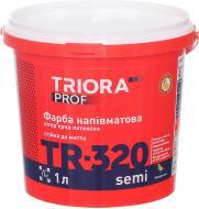 Краска Triora TR-320 semi белый 1л