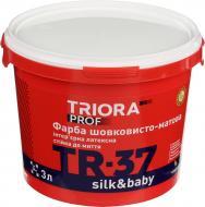 Краска Triora TR-37 silk&baby белый 3л