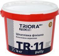 Шпаклівка Triora TR-11 putty білосніжна 16 кг