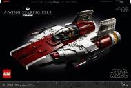 Конструктор LEGO Star Wars Винищувач A-wing Starfighter 75275