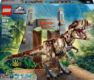 Конструктор LEGO Jurassic World Парк Юрського періоду: лють тиранозавра 75936