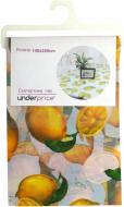 Скатертина Лимон 140x240 см жовтий Underprice