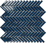 Плитка Intermatex Tech Chevron Blue Gloss 28,3x27,7