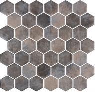 Плитка Onix Hex XL Denim Copper (BLISTER) 28,6x28,4
