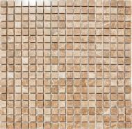 Плитка KrimArt мозаика МКР-4С Emperador Light 30,5x30,5x0,6 см