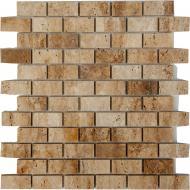 Плитка KrimArt мозаїка МКР-11П Travertin Classic 30,3x32,3 см