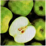 Плитка Атем Orly Apple W декор 20x20