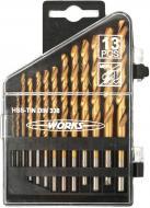 Набор сверл по металлу Work's 1,5-6,5 мм 13 шт. H1301-3