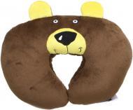 Подушка автомобільна Kerdis дитяча Ведмідь 31x22x8 см