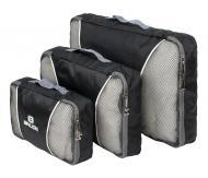 Чехлы для вещей Набор 3 шт. Traveler BL-01 45х35х7 смЧерный (22816)