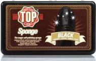 Губка-блеск для обуви TOP черный