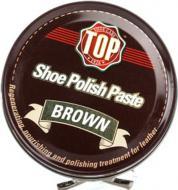 Крем для обуви TOP 50 мл коричневый