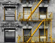 Плитка Tiger Liid urban 2 жовтий панно 40x60