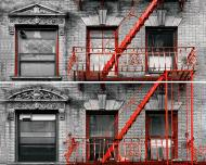 Плитка Tiger Albar urban червоний панно 50x75