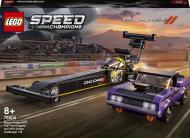 Конструктор LEGO Speed Champions Mopar Dodge//SRT Top Fuel Dragster and 1970 Dodge Challenger T/A 76904