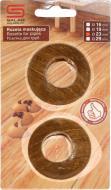 Розетка на трубы Salag 10 орех 23 мм