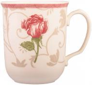Чашка Damascus flower Pink 370 мл Claytan Ceramics