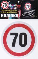 """Светоотражающая наклейка TERRAPLUS """"70"""""""