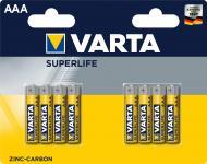 Батарейка Varta Superlife AAA (R03, 286) 8 шт. (2003101418)