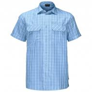 Рубашка Jack Wolfskin THOMPSON SHIRT MEN 1401042-7817 р. M голубой