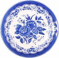 Тарілка десертна Victoria Blue 21 см 910-070 Claytan Ceramics