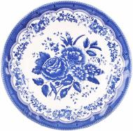 Тарілка супова Victoria Blue 24 см 910-075 Claytan Ceramics