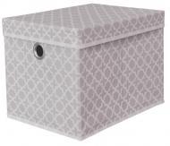 Короб для зберігання із кришкою Тарлев 15305 Modern сірий 300x300x400 мм