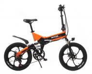 Електровелосипед Maxxter Ruffer Max black/orange