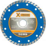 Диск алмазний відрізний X-Treme Турбо  150x2,0x22,2 граніткаміньбетон