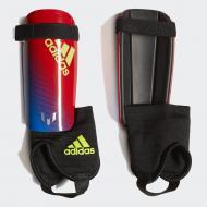 Щитки футбольні Adidas YOUTH MESSI 10 DN8592 р. S червоно-синій
