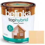 Лазурь Belinka Tophybrid №12 бесцветная шелковистый глянец 0,75 л