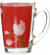 Чашка New Morning Red Orchis 320 мл N1197 Luminarc