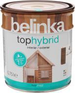 Лазур Tophybrid №4 Belinka горіх темний 0,75 л