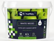 Фарба акрилова UniSil садова WHITE WOOD мат біла 10л 14кг
