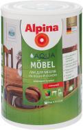 Лак акриловий Aqua Mobel GL Alpina глянець 0,75 л прозорий