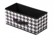 Короб складаний Handy Home UC-06 Scotland 7 л білий/чорний 150x328x152 мм