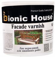 Лак для зовнішніх робіт Bionic House напівмат безбарвний 0,8 л