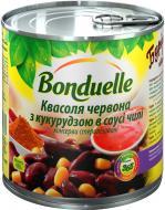 Квасоля червона Bonduelle з кукурудзою в соусі Чілі 430 г