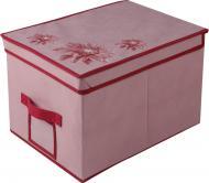 Короб складаний із кришкою Handy Home UC-82 Хризантема 30 л рожевий 300x250x400 мм