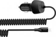 Автомобільний зарядний пристрій Promate VolTrip-І black