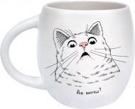 Чашка Удивленный кот 450 мл Orner
