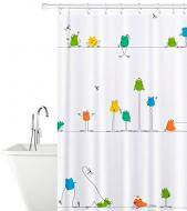 Шторка для ванни Tatkraft Funny Frogs