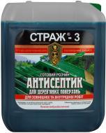 Антисептик STRAZH Страж-3 зеленый 5 л