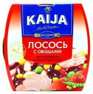 Консерва Kaija Лосось з овочами по-італійськи в томатному соусі 220 г