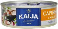 Консерва Kaija Сардина атлантична в олії 240 г
