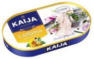 Консерва Kaija Сардина філе в олії 170 г